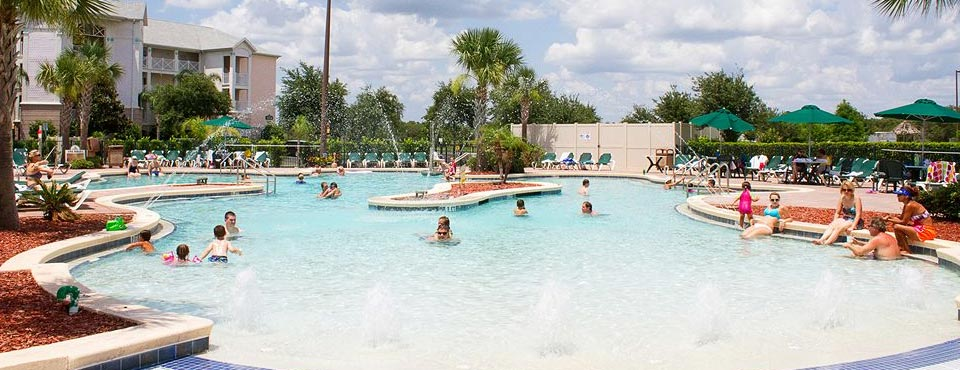 The largest pool at the Summer Bay Resort in Orlando over in the 500 complex