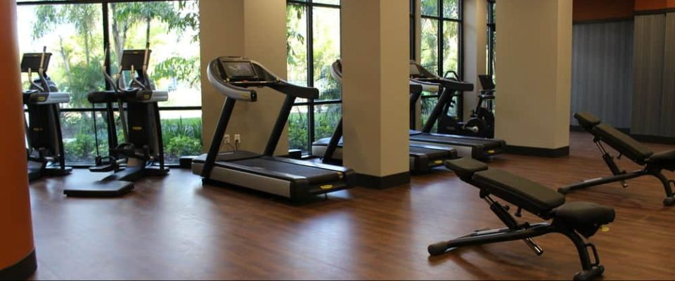 The Fitness Room at The Grove Resort in Orlando