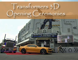 Universal Orlando Grand Opening of Transformers the Ride 3D