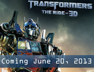 Transformers the Ride 3D opening June 20th 2013