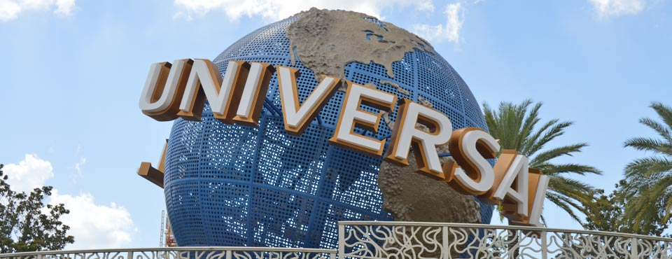 View of the Univerrsal Turning World at the Entrance of the Parks from the Universal Ferry Boat 960