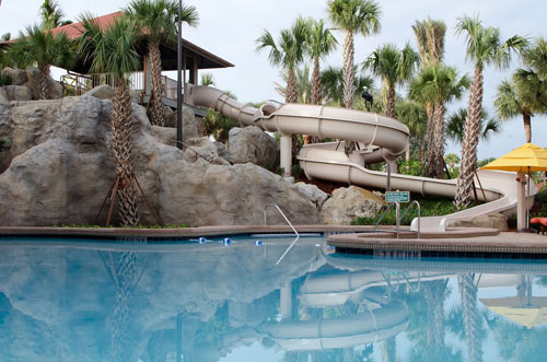 Take a twisting turning fun ride down this 124 foot Water Slide at the Hyatt Orlando