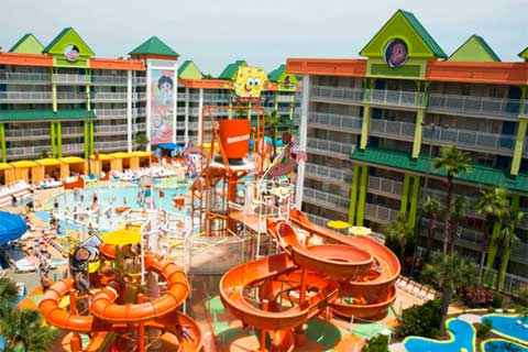 nickelodeon resorts amenities