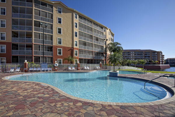 westgate town center pools heated quiet in kissimmee fl