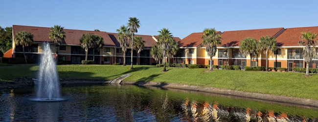 Westgate Vacation Villas on the lake view wide
