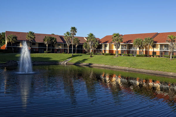 Westgate Vacation Villas on the lake view