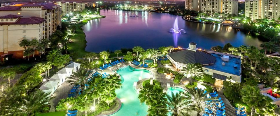 Wyndham At Bonnet Creek With 250 Ft Lazy River Water Slide