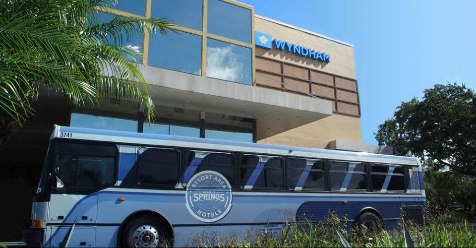 Disney Springs Resort area Shuttle at Wyndham Garden Lake Buena Vista 960