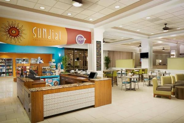 Sundial Cafe open 24/7 at Wyndham Disney Springs